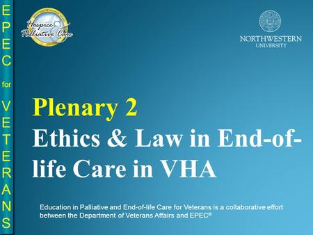 ethics end of life choice The end of life care page contains articles and information from the new england journal of medicine.