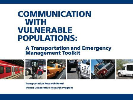 "1. What are vulnerable populations? The Emergency Management National Response Framework says ""special needs"" populations may have additional needs before,"