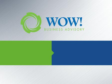 "PATH TO ""WOW"" PATH TO ""WOW"" www.gowowadvisors.com 2 Types of Businesses ""Ouch"" ""Ho-Hum"" ""Gee-Whiz"" ""WOW"" Lost control – personally and professionally."