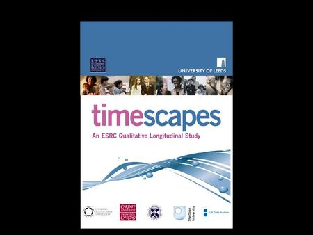 The Timescapes Study and Archive: A Resource for Secondary Use Bren Neale University of Leeds.