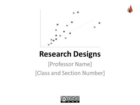 Research Designs [Professor Name] [Class and Section Number]