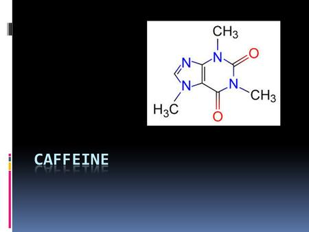 Did you know…  Caffeine is a DRUG What is Caffeine found in…  Brainstorm!  Coffee  Tea  Energy drinks  Pastries  Chocolate  Coca cola  Ice cream.