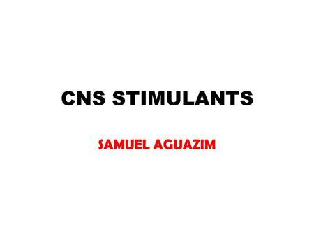 stimulants