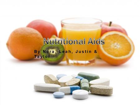 By Nora, Leah, Justin & Taylor. INTRODUCTION  Many athletes use dietary supplements as part of their regular training or competition routine, including.