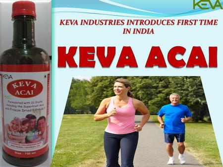 KEVA INDUSTRIES INTRODUCES FIRST TIME IN INDIA