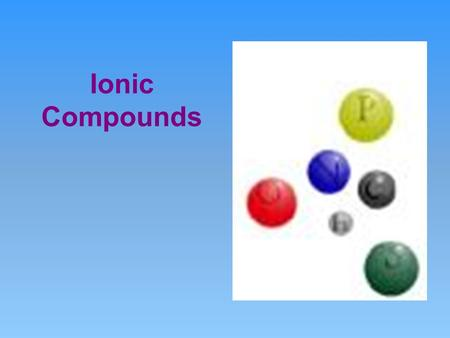 Ionic Compounds. Lewis Dot Diagrams Chemical Interactions Occur between the Valence Electrons Dots: represent valence electrons.