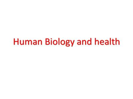 Human Biology and health. The levels of organization in the human body consist of cells, tissues, organs, and organ systems. A cell is the basic unit.