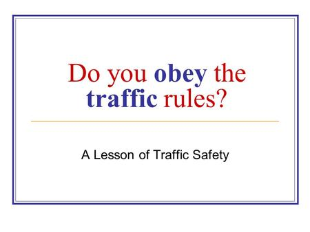 The Importance of Defensive Driving and Safety