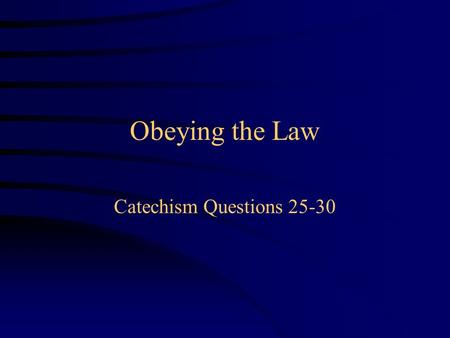 "Obeying the Law Catechism Questions 25-30. Discuss ""caning"" in Singapore."
