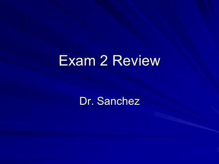 Exam 2 Review Dr. Sanchez. Theme: Social Influence Attitudes & Behavior Persuasion & Attitudes Compliance, Conformity, Obedience Gender & The Body.