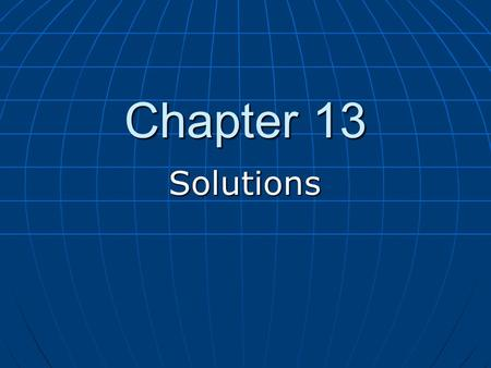 "<strong>Chapter</strong> 13 Solutions. Homework Assigned Problems (odd numbers only) Assigned Problems (odd numbers only) ""Problems"" 25 to 59 (begins on page 478) ""Problems"""