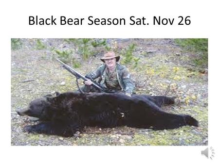 Black Bear Season Sat. Nov 26 Avoiding Injuries Objectives. Describe the most common injuries that occur during exercise. Identify weather-related risks.