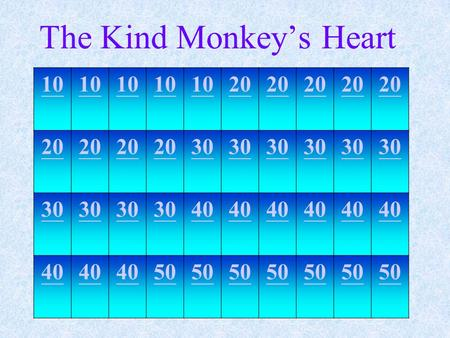 The Kind Monkey's Heart 10 20 30 40 50 一個吃了一半且腐爛的蘋果 a half-eaten, rotten <strong>apple</strong> Vocabulary.