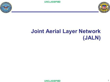 Joint Aerial Layer Network (JALN)