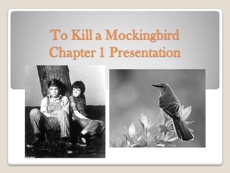 to kill a mockingbird racism essay introduction Essays - largest database of quality sample essays and research papers on to kill a mockingbird introduction.