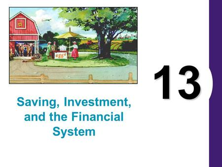13 Saving, Investment, and the Financial System. FINANCIAL INSTITUTIONS IN THE U.S. ECONOMY The financial system is made up of financial institutions.