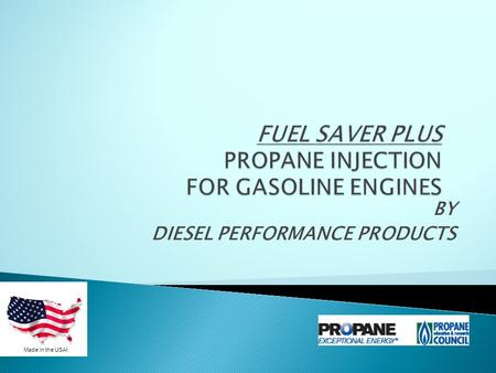 BY DIESEL PERFORMANCE PRODUCTS Made in the USA!.