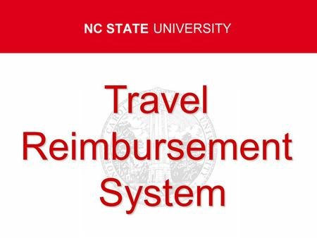 TravelReimbursementSystem Travel Travel Policies and Procedures.
