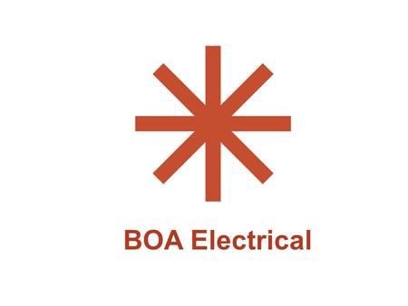 BOA Electrical. E L E C T R I C A L Outline F Computers and printers F Appliances F Demand and consumption F ENERGY STAR ratings F Car plugs F Miscellaneous.