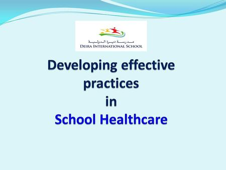 "Every school has an ""effective"" healthcare program, the quality and reach of these programs, is a choice."