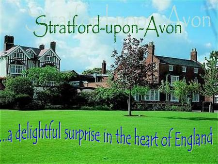 Stratford-upon-Avon is located in the Midlands in the county of Warwickshire. All forms of travel are available: road, train, bus and there are nearby.