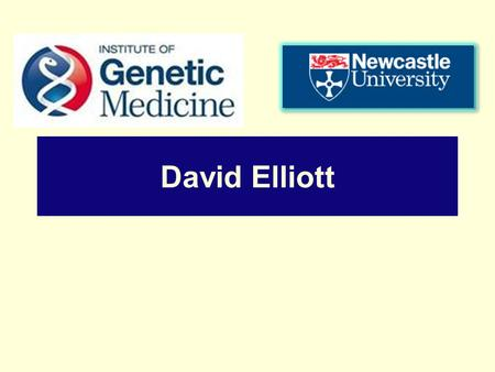 David Elliott. Harry Potter and the Recessive Gene How Are Wizards Made ?