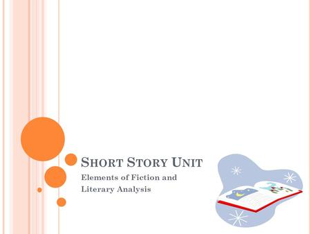 S HORT S TORY U NIT Elements of Fiction and Literary Analysis.
