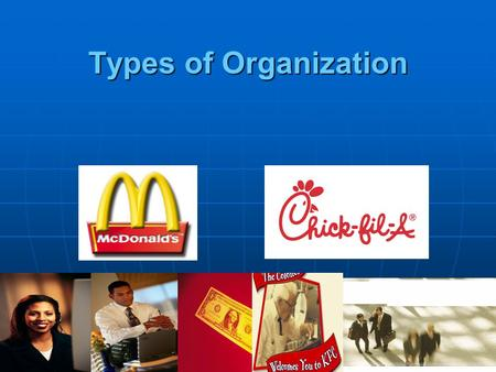 Types of Organization.