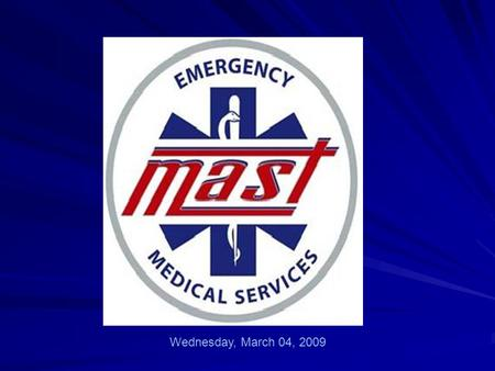 "Wednesday, March 04, 2009. 65 Mahatma Gandhi Metropolitan Ambulance Services Trust ""Commitment to Customer Service"""