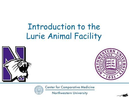 Introduction to the Lurie Animal Facility. Agenda Welcome Business Plan Overview of Lurie Facilities Location of your animals Logistics Accessing the.