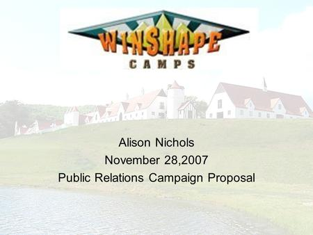 How to Write a Campaign Proposal