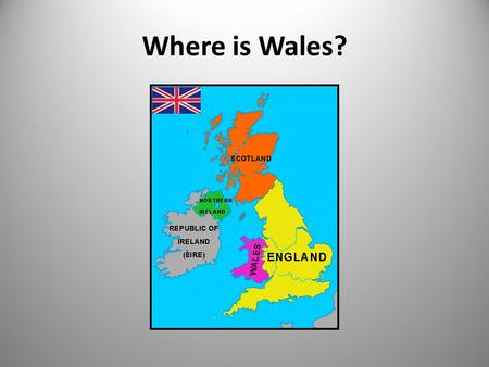 Where is Wales?. How big is Wales? What is an Eisteddfod? A celebration of Welsh language and culture A festival to celebrate music and tradition Competitions.