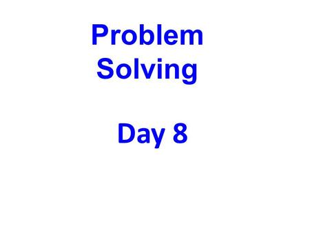 Day 8 Problem Solving. Chocolates at the candy store cost $6.00 per dozen. How much does one candy cost? Round your answer to the nearest cent. Solution: