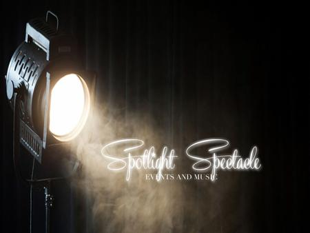 Spotlight Spectacle is a creative events business put up by the passion and enthusiasm of a budding event specialist who aims to touch lives by making.