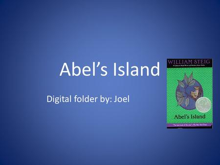 Abel's Island Digital folder by: Joel. The Picnic onions black caviar olives quail eggs pot cheese watercress champagne.