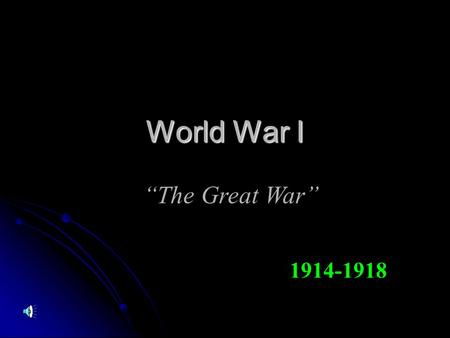 How was communication a factor in World War 1?