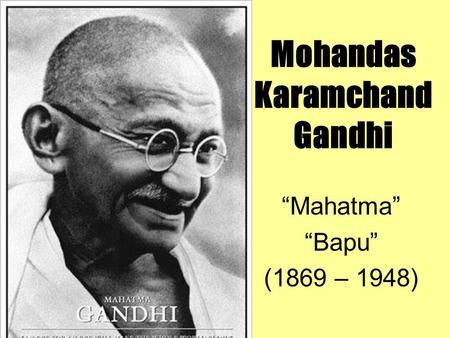Essay Mahatma Gandhi English