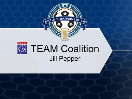 TEAM Coalition Jill Pepper. 2 Key Messages Buckle Up America – Every Trip, Every Time Click It or Ticket Safety Belts Drunk Driving Social Norming Enforcement.