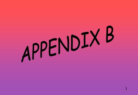 1. 2 APPENDIX B A PROCEDURE FOR GENERATING AN EQUILIBRIUM POINT FOR 2-PERSON GAMES (That sometimes works!)