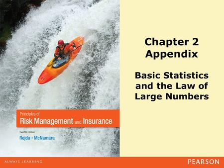 Chapter 2 Appendix Basic Statistics and the Law of Large Numbers.