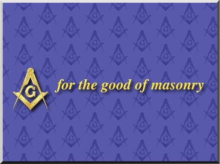 for the good of masonry Ecclesiastes XII for the good of masonry Ecclesiastes XII Remember now thy creator in the days of thy youth, while the evil days.