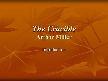 the crucible power dynamics Need help on themes in arthur miller's the crucible check out our thorough thematic analysis from the creators of sparknotes.