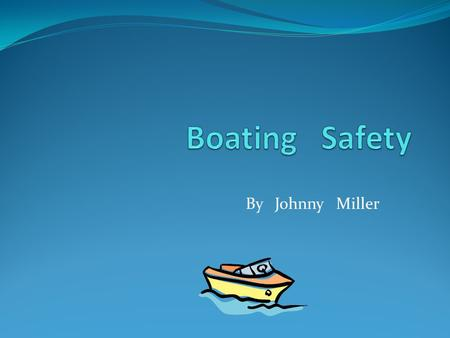 By Johnny Miller. Facts In boating accidents where there are drownings, 84% of the victims WERE NOT wearing life jackets.