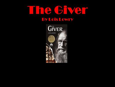 The Giver: Euthanasia and Euphemisim