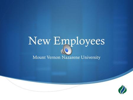  New Employees Mount Vernon Nazarene University.