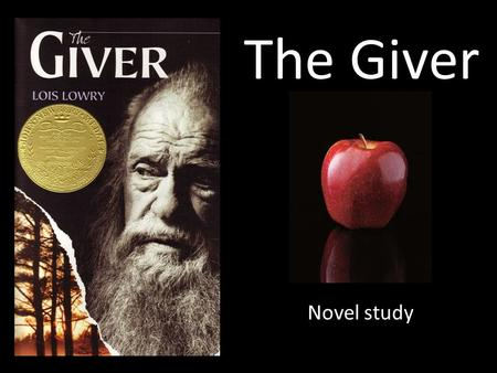 The Giver Novel study. What is the message? The message of the novel is not everything is as it seems, don't judge by appearance. At first the novel gives.