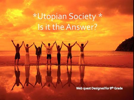 *Utopian Society * Is it the Answer?. Introduction  The Giver shows a society that is very different from ours. Jonas's world is perfect. There is no.