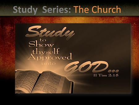 Study Series: The Church. The Quiz on Baptism Write out the book, chapter and verse for the below scriptures. Book-10pts Chapter-10pts Verses-10pts ""