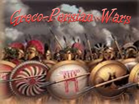 – Ionian Revolt 498 BC – A revolt broke out on the Ionian Peninsula when Darius I started consolidating Persia's western conquests near the Aegean sea.