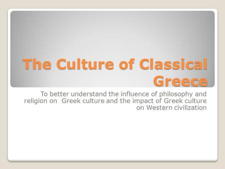 Great religions and philosophies greek philosophy